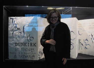 Liz Mathews with Thames to Dunkirk in the British Library