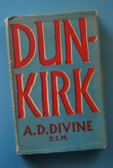 My copy of AD Divine's Dunkirk