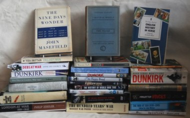 Books and DVDs from my collection of material related to Dunkirk 1940