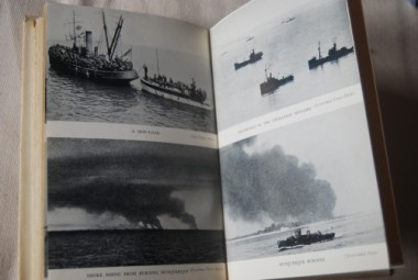 Photo pages from John Masefield's 'The Nine Days Wonder'