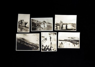 Six Dunkirk Phossils by Charlie Bonallack 2015